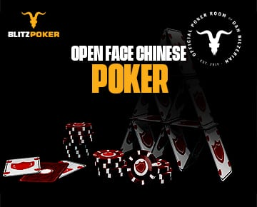 Open Face Chinese Poker - BLITZPOKER