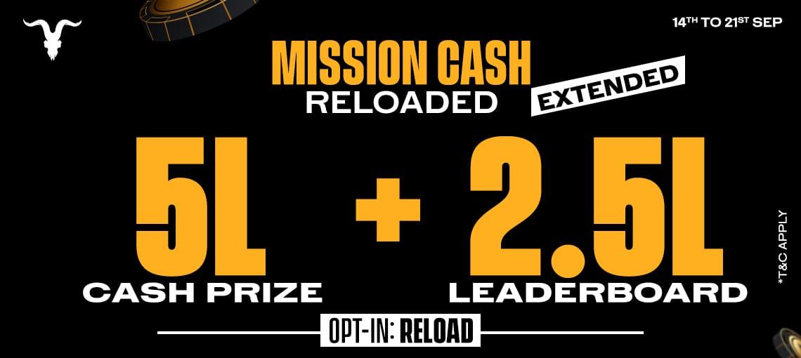 Mission Cash Reloaded|Blitz poker