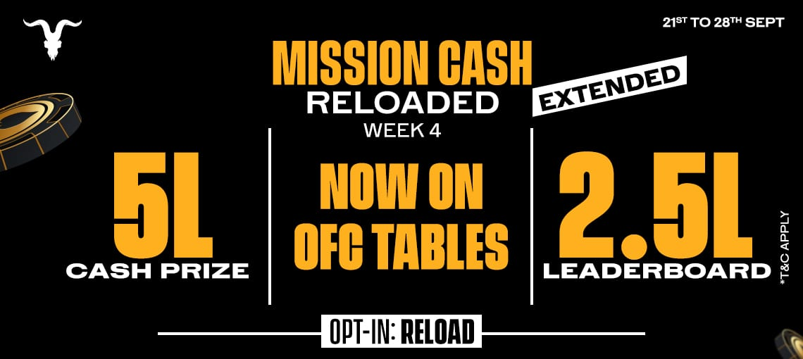Mission Cash Reloaded|Blitz poker
