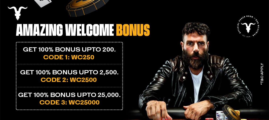 Amazing Welcome Bonus| Blitz Poker